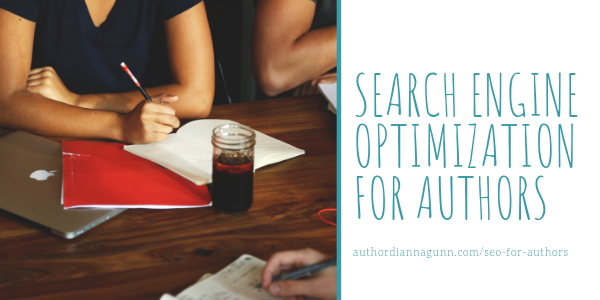 SEO For Authors Homepage